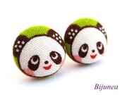Panda earrings - Panda post earrings - Panda studs - Panda posts - Panda stud earrings sf786