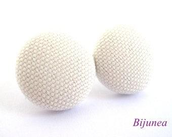 White earrings - White stud earrings - White post earrings - White posts - White studs sf1008