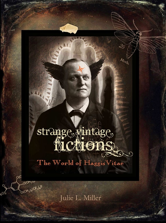 """BOOK - """"Strange Vintage Fictions, The Art of HaggisVitae"""" - Signed with free HV book mark"""