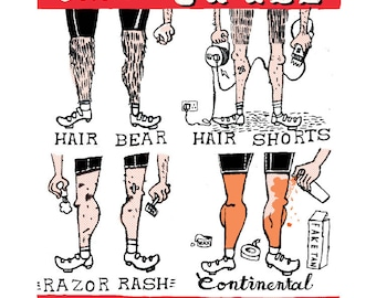 Which  Style Are You?  Cycling Giclee print