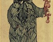 Bear Print