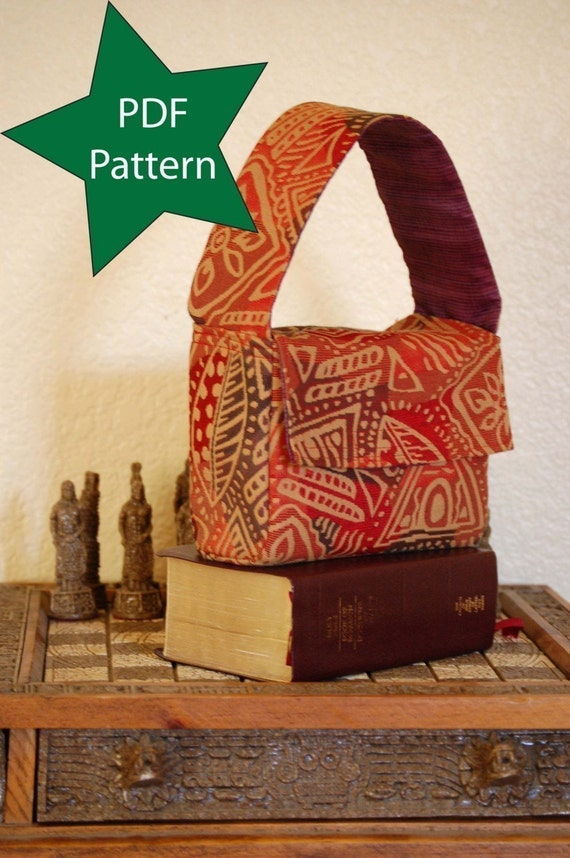 LDS Standard Scripture Bag Pdf Sewing pattern