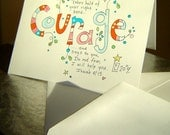 Courage - Note Card