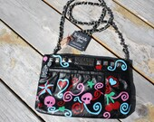 CLEARANCE SALE 60% OFF, Tattoo Style, Hand Painted Handbag