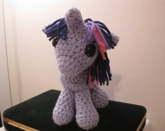 Twilight Sparkle - My Little Pony Friendship is Magic Amigurumi Crocheted MLP Plush Doll