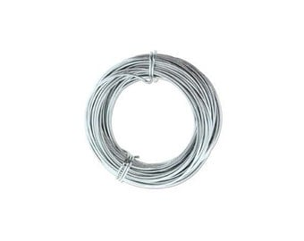 Anodized Aluminum Wire 18 Gauge Gray 41973 , Jewelry Wire, Craft Wire, Round Wire, Aluminium Wire, Soft Temper Wire, Anodized Wire