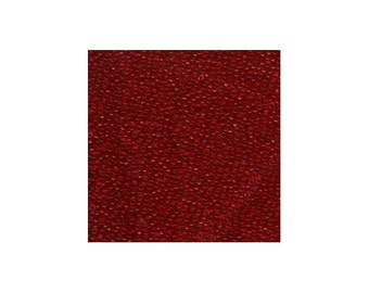 Miyuki Seed Beads 8/0 Transparent Red 8-141 22g Tube, Glass Seed Beads Size 8