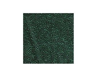 Miyuki Seed Beads 11/0 Transparent Emerald Green 11-156 24g Tube 11/0 Glass Size 11