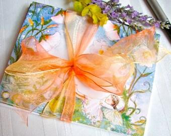 Set of 5 Sleeping Fairy Cards ( 3 delightful sleeping fairys ) a favorite