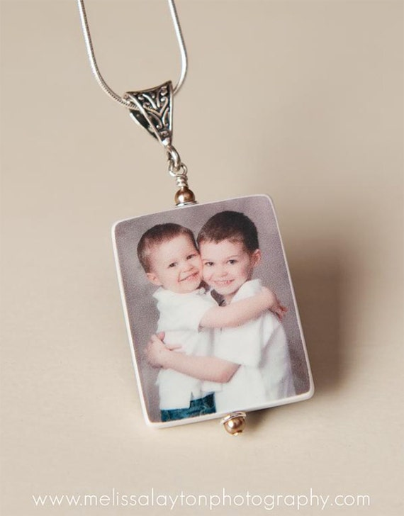 Photo Pendant Keepsake Necklace - P1fN
