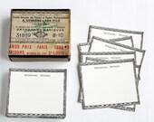 Wedding Guestbook Alternative Vintage Paper Cards