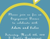 Bling Engagement Party Invitation