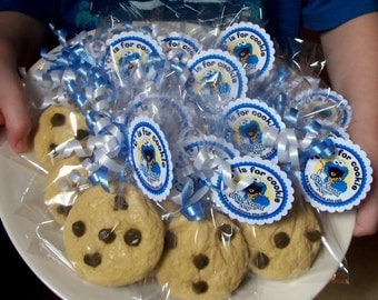 Childrens Soap - 30 Chocolate Chip Cookie Soaps party favors birthday party favors cookie monster
