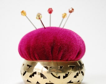 Pincushion 'pierced Brass'