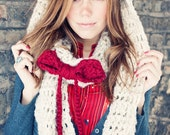 The Rapunzel- Double Wrap Infinity Scarf with Bow