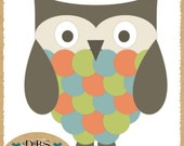 Commercial Use Owl Photoshop Template