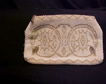 Beaded Evening Bag to wear on your belt and dance the night away