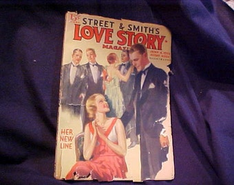 Vintage Street and Smith's Love Story Magazine June 4th, 1932