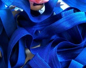 Fold over Elastic 5/8 inches ROYAL BLUE 5 yards