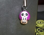 Purple poison Death mushroom cell phone DS charm