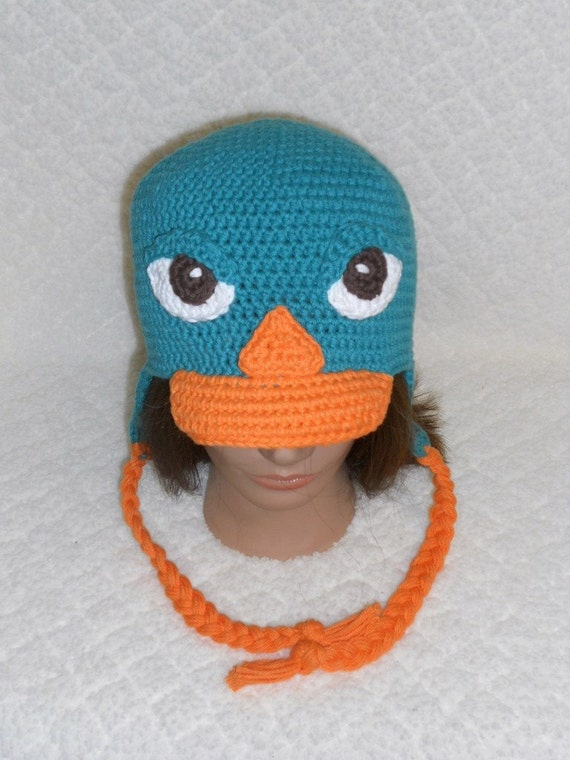 Perry the Platypus Earflap Hat from Phineas & Ferb