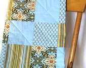 Baby Quilt / Lap Quilt / Playmat / Baby Blanket / Security Blanket / Patchwork / baby boy / Picnic Blanket /Crib quilt
