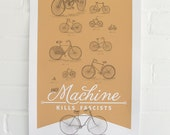 ARTCRANK Poster // This Machine Kills Fascists