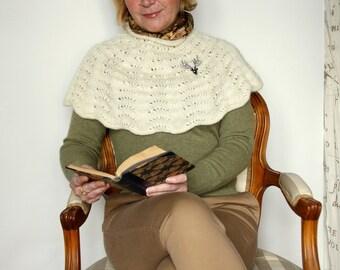 Wave Shoulder Cozy - PDF Knitting pattern.