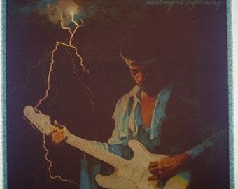 Vintage JIMI HENDRIX Midnight Lightning Album Cover Iron On Transfer