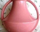 Vintage Coors Pink Vase, Art Deco and Rare
