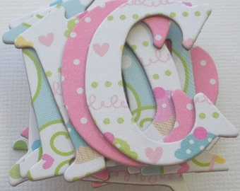 CONFECTIONS - DOODLEBUG Chipboard Letters & Cupcake Cuts