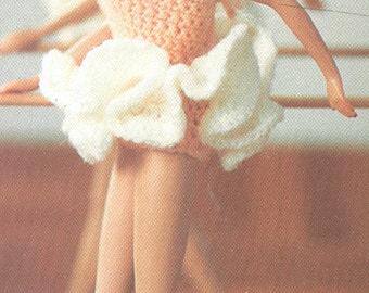 Barbie Ballet Tu Tu Crochet Pattern PDF 8305