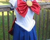 Sailor Moon / Sailor Chibi Moon Cosplay Costume CUSTOM MADE