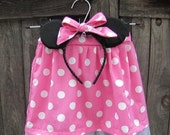 Minnie Mouse Costume - Pink