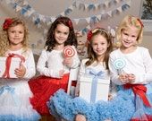 Sweetheart Pettiskirt - Birthday Party Package - Set of 4 Skirts