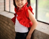 DIY Girls Ruffled Bolero by Dreamspun -  PATTERN eBOOK TUTORIAL - You Make It