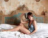 Lingerie Set Babydoll / Panty - Organic Cotton and Soy/ Pajama/ nightwear/ lingerie/ sleepwear/ plus size / knicker/ sexy/ bridal/ maternity