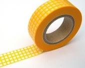Yellow Washi Tape, Japanese Masking, Vitamin Supplement, Mark'sphere