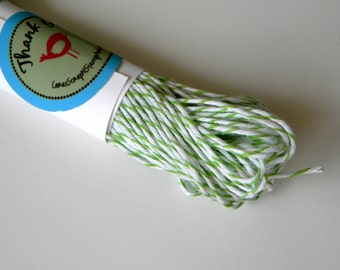 Green Baker's Twine, Divine, 25 Yards, 75 Feet, 900 Inches