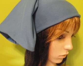Women's or Men's Skullycap, Skull Cap, Skullcap, Women's Hat, Man's Hat, Blue Hat, Handmade Hat