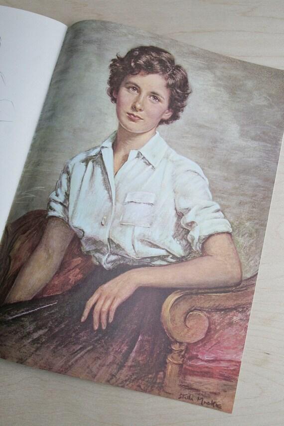 large format litho portrait book