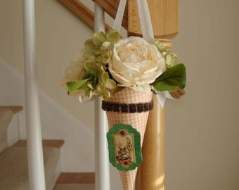 Peter Rabbit Handmade Nosegay Easter Decoration, Spring Decor for Home