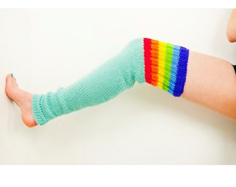 Rainbow Dash and Blue Legwarmers