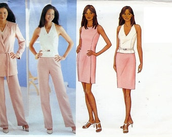 Butterick UNCUT Pattern 3036 - Misses Jacket, Dress, Top, Skirt and Pants - 6-10