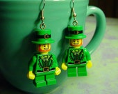 St. Patrick's Leprechaun Earrings