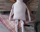 Unstuffed, Muslin Doll Body - Sewn/Unstuffed Body Blanks - Hafair