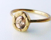 Color your ring (18K gold plated - In your color in your size)