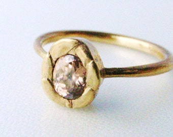 Color your ring (silver with 18K gold plating - In your color in your size)