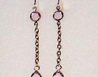 Titanic Jewelry Rose's Deck Strolling Earrings
