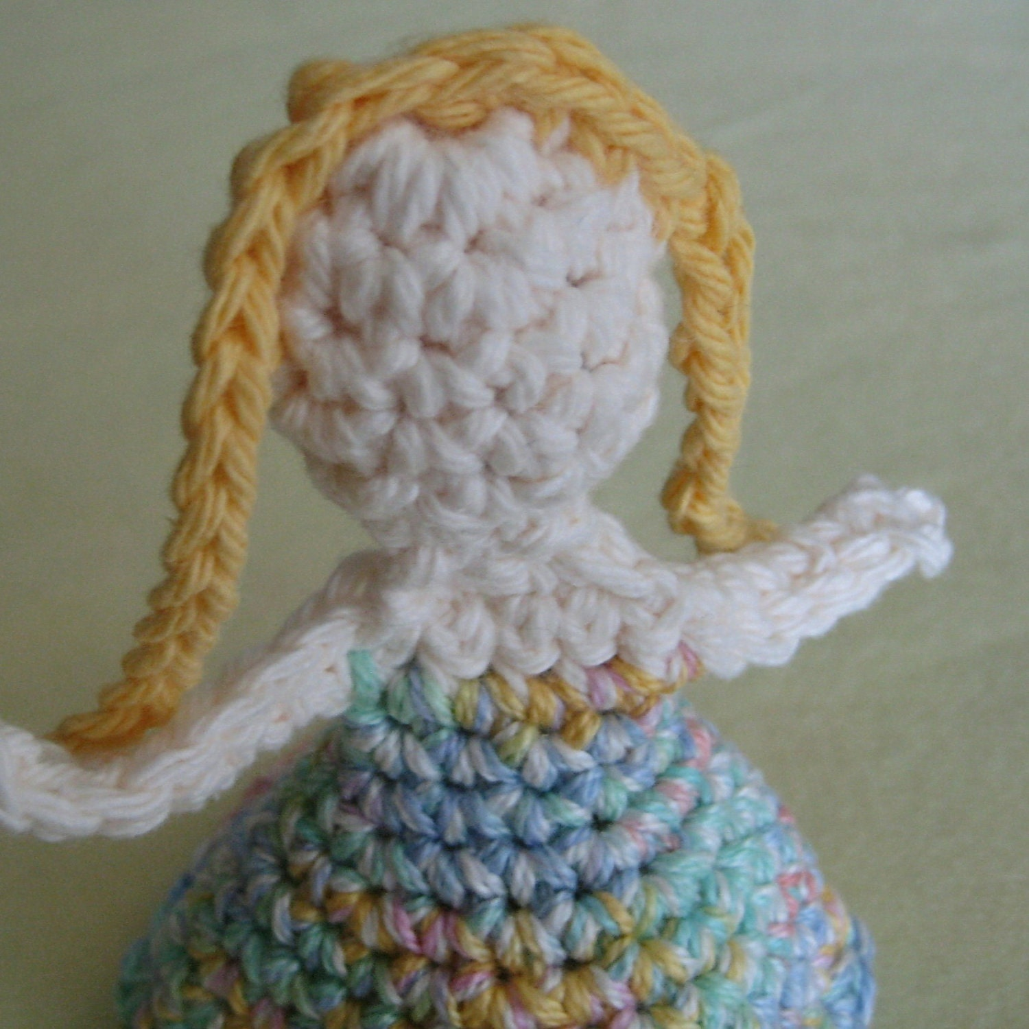 Crochet Mini Doll Pattern : Tiny Dancer Doll Crochet Pattern Instant Digital